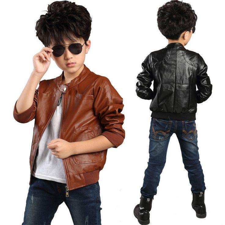 17 Best ideas about Boys Leather Jacket on Pinterest   Fashion ...