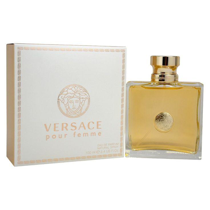 Versace Pour Femme by Versace Eau de Parfum Women's Spray Perfume - 3.4 fl oz