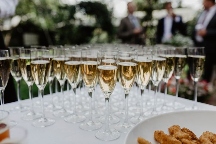 Bubbly time! Photo by Benjamin Stuart Photography #weddingphotography #bubbly #champagne #weddingtoast #cheers