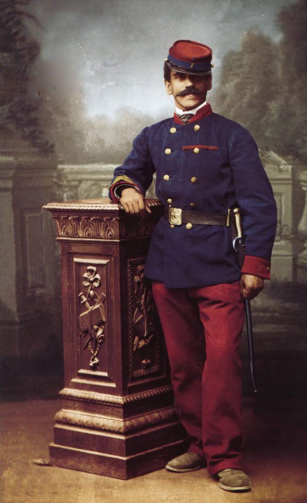 Sargento 1º Pedro Olguin Regimiento de Infanteria de Linea 1º  BUIN