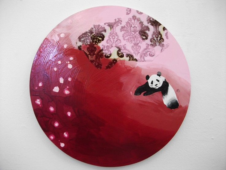 Panda in Paris