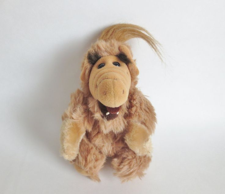 "Alf Doll Finger Puppet 1987 Alien Productions, Vintage Alf Plush Toy Puppet Ganz Bros 8"", Alf Stuffed Toy, Alien Life Form, Alf 80s TV Show by OtterValleyVintage on Etsy"