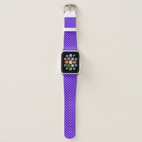 #watches #wristwatches Purple chevron pattern apple watch band - click/tap to personalize