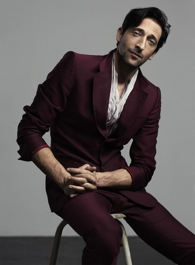 Adrien Brody for Elle Men China March 12