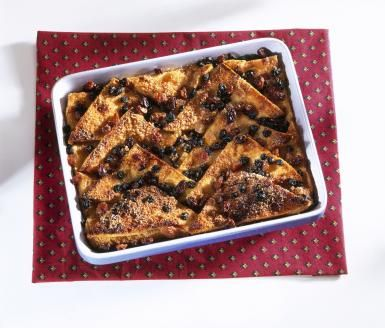 An Irish Twist on a Traditional Bread and Butter Pudding: Bread and Butter Pudding