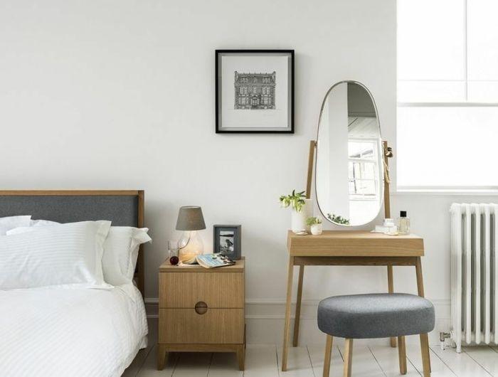 16 best entrée images on Pinterest Drawers, Bedrooms and Closet - meuble coiffeuse avec miroir pas cher