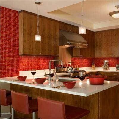 Dramatic Transitional Kitchen   Home And Garden Design Ideas Part 74