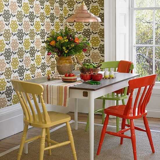 Looking For Country Dining Room Decorating Ideas? Take A Look At This Vibrant  Dining Room From Country Homes U0026 Interiors For Inspiration.