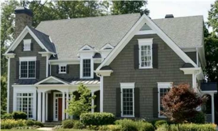 80 best images about colonial exterior color style on for Colonial home colors