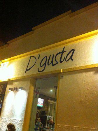 Restaurante d'Gusta in Tavira. Heerlijke tapas en een goede sfeer.