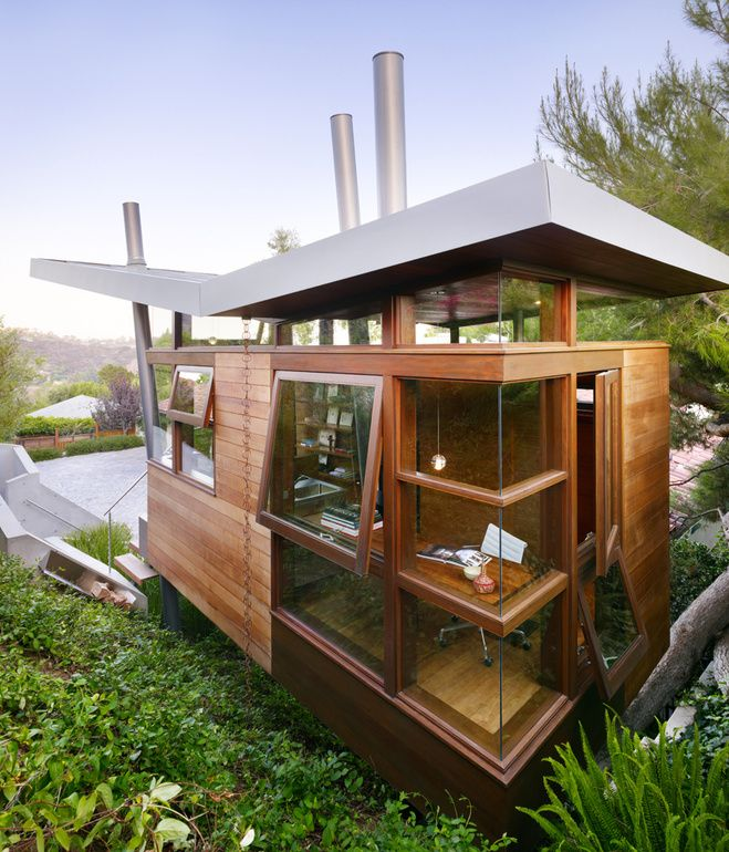 38 Best Images About Backyard Office On Pinterest | Backyards