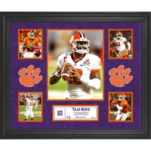 Tajh Boyd Clemson Tigers Fanatics Authentic Framed 5-Photograph Collage - $129.99