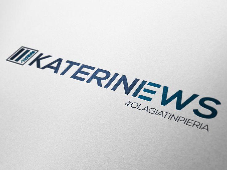 Logo design for Katerini News www.katerini-news.gr