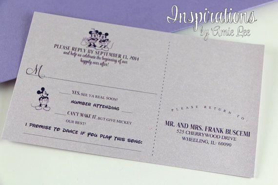 Wedding Invitations Disney: 17 Best Ideas About Disney Wedding Invitations On