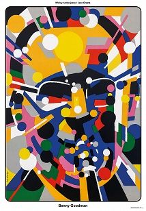 Benny Goodman, Plakat z serii Jazz Greats