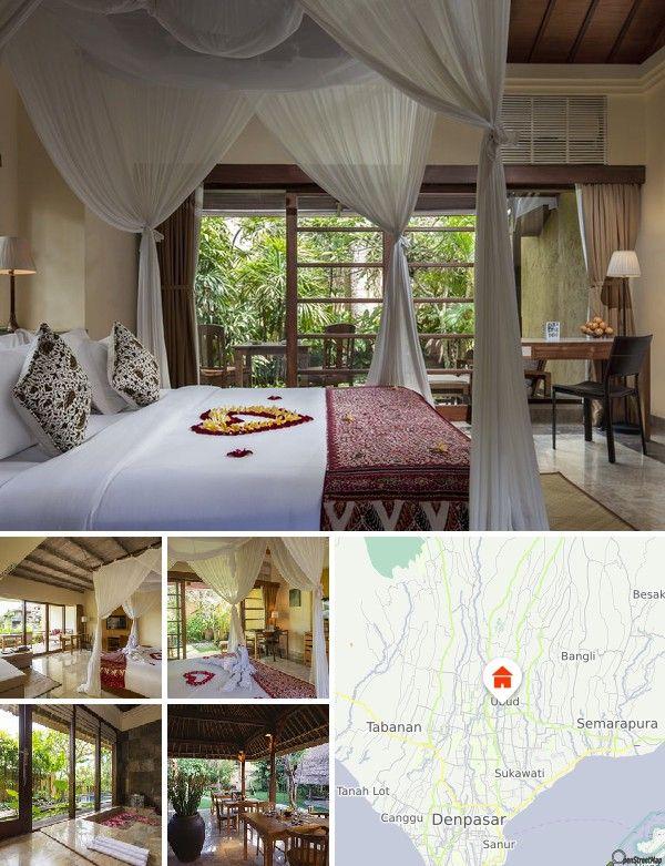 Situé dans le centre d'Ubud, ce complexe est entouré d'une luxuriante végétation tropicale et d'une abondance de plantes exotiques, ce qui en fait une véritable oasis au cœur de l'animation d'Ubud et de sa très pittoresque Monkey Forest Road, avec ses nombreux magasins et ses excellents restaurants. Ce complexe permet en outre d'accéder facilement aux temples et aux spectacles culturels. Compter 500 m pour rejoindre le village d'Ubud, le marché et le palais. Les clients pourront également…