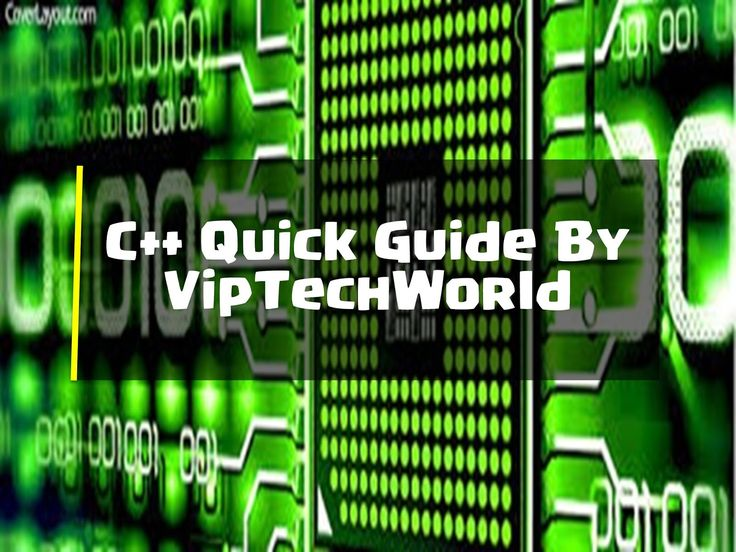 C Language Quick Guide By VipTechWorld    Hello and Welcome to this quick C language guide. This guide can be used in many ways. You can start reading it from top to bottom or you can just choose the topic you want to study and see that topic. So lets start...  Contents [hide]  Intro: C is a statically typed compiled general-purpose case-sensitive free-form programming language that supports procedural object-oriented and generic programming. C is regarded as a middle-level language as it…