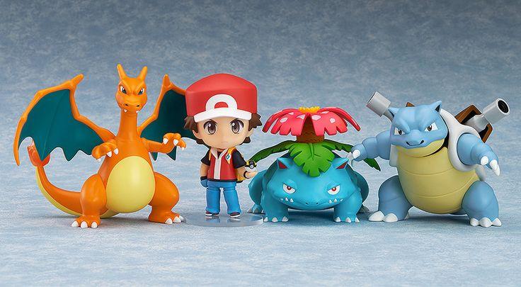 Pokémon Trainer Red- Champion Ver. Nendoroid