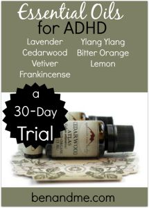 ADHD, essential oils, Mountain Rose Herbs