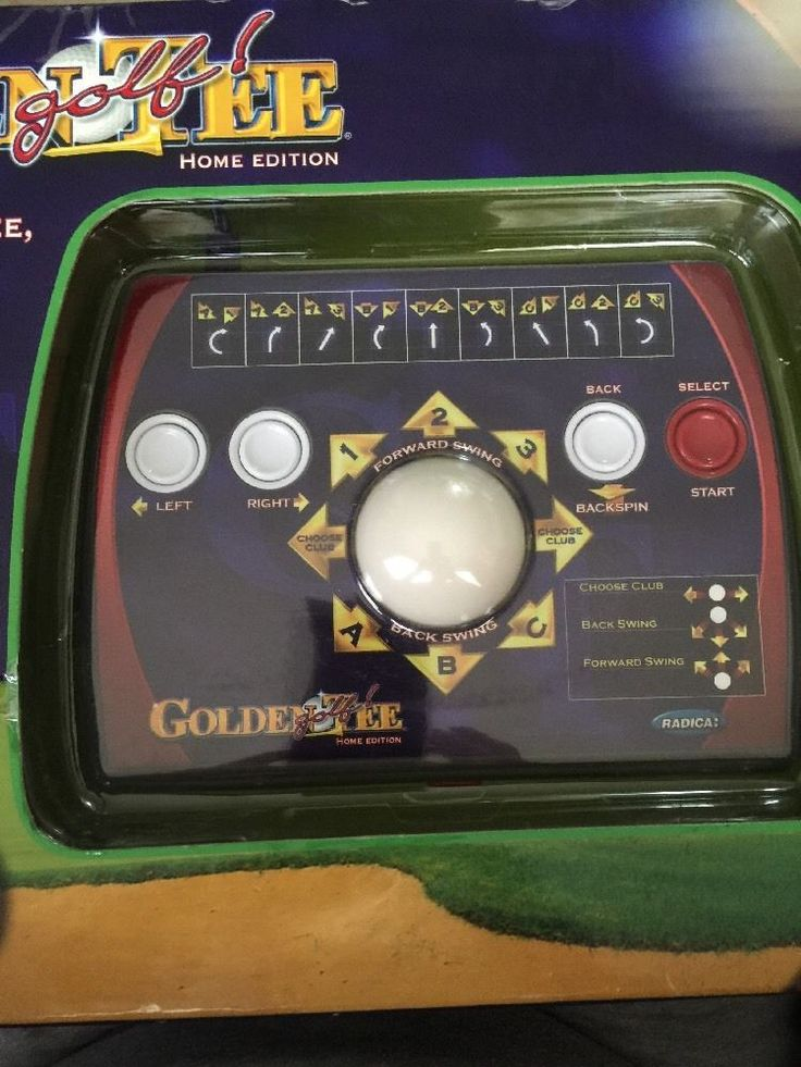 GOLDEN TEE GOLF Home Edition Plug & Play Console- Plugs in TV! #Radica