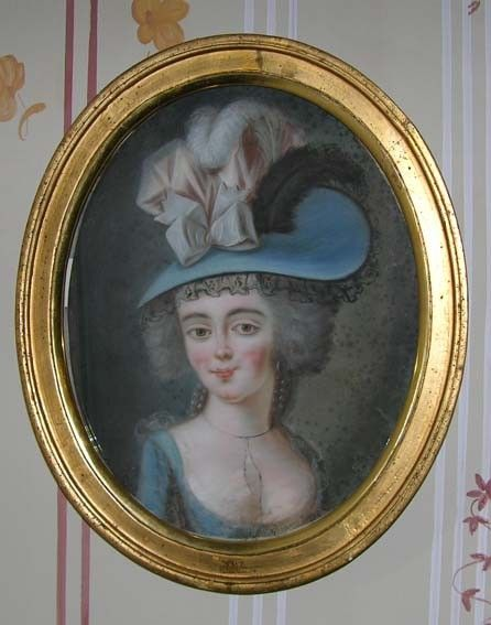 Magdalena Rudenschöld (1766-1823) oli kreivi Carl Rudenschöldin ja kreivitär Kristina Sofia Bielken tytär. Magdalena oli Kustaa III:n sisaren, prinsessa Sofia Albertinan hovineitinä teini-iässä. Vuosina 1785-1793 hän oli Gustaf Mauritz Armfeltin rakastajatar. | Museums of Southwest Finland (Musketti) | Museo Finna
