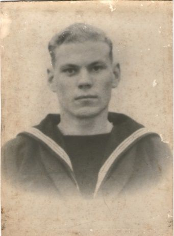 Stafford Maclennan as a Naval Rating / Able Seaman