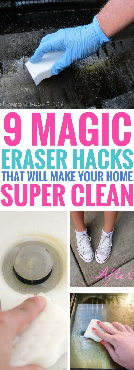 Magic eraser hacks that are seriously BRILLIANT! So many unexpected new uses to clean many things quickly! Make sure to check out the before and after hacks, they will blow your mind!