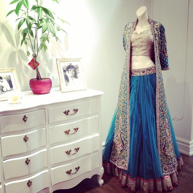 The most powerful outfit in our collection. #bosslady #LeanIn #OWN #ctcwest #bridal #lehenga #bridalwear