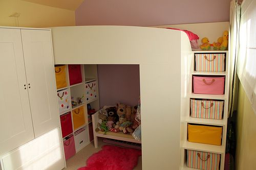 childrens cabin bed with wardrobe 3