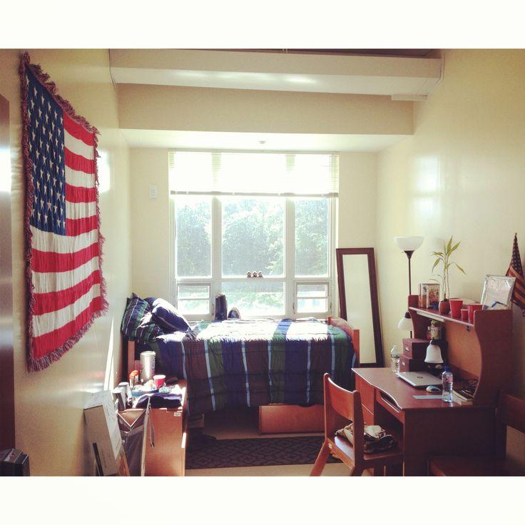 Suny Binghamton Dickinson Cool American Flag Blanket