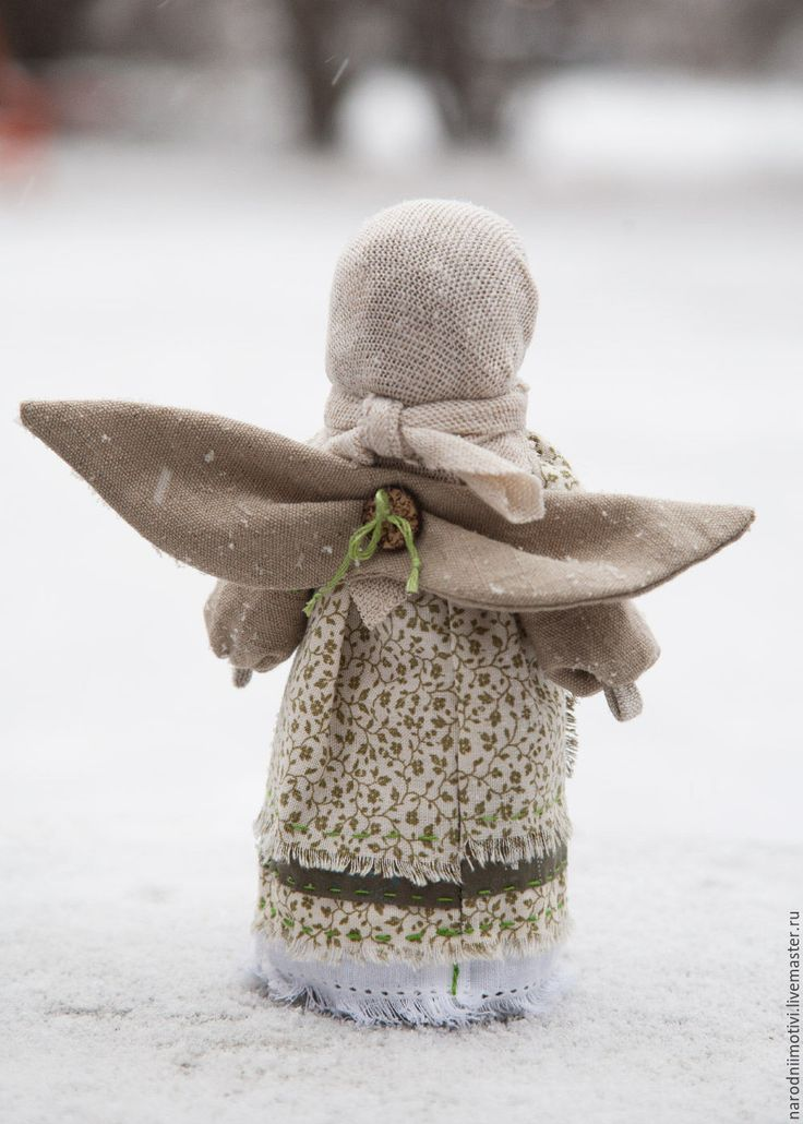 gorgeous angel russian set against snow...