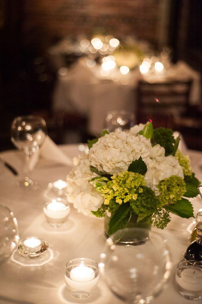 Event Flowers: Rehearsal Dinner Flowers at Landini Brothers Restaurant in Alexandria, Virginia » Sweet Root Village Blog
