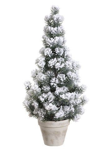 "22"" Snowy Flocked Traditional Pine Potted Artificial Christmas Tree - Unlit by Allstate. $24.99. 22 Inch Flocked Pine Potted Artificial Christmas TreeItem #YTM420-GR/SNAdd a classical wintry touch to your home decor with this artificial flocked Christmas pine tree tucked into a weather white potPot features an inner layer of artificial dirt for realismFeatures:136 branch tipsNo assembly requiredNatural green colorRecommended for indoor use onlyDimensions: 22 inches hig..."