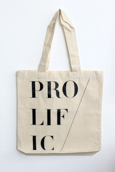 A tote we designed for Little Paper Planes