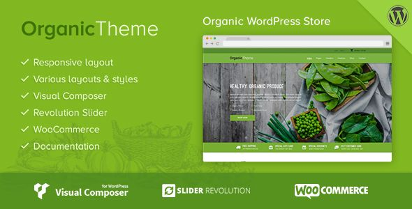 ORGANIC is an amazing and well-packed 4 in 1 WordPress #Theme for Organic Farm & Food #Business website download now➝ https://themeforest.net/item/organic-organic-farm-food-business-wordpress-theme/16183215?ref=dronestarstudio