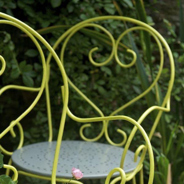 L'objectif : Repeindre un salon de jardin en fer forgé - Étape par étape
