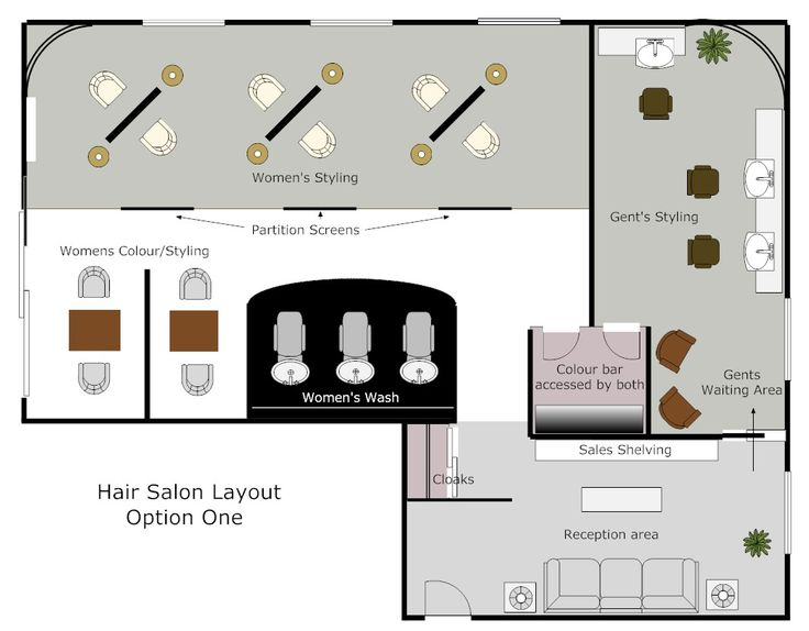 Create your own salon floor plan free for Design your own restaurant floor plan