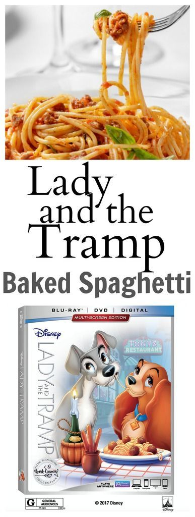 Lady and the Tramp Baked Spaghetti Recipe! This is the perfect recipe to make while you watch the newly released version of Lady and the Tramp! Be sure to download your free activity sheets too! One of my all-time favorite movies when I was a kid! Such a sweet love story that melts your heart! …
