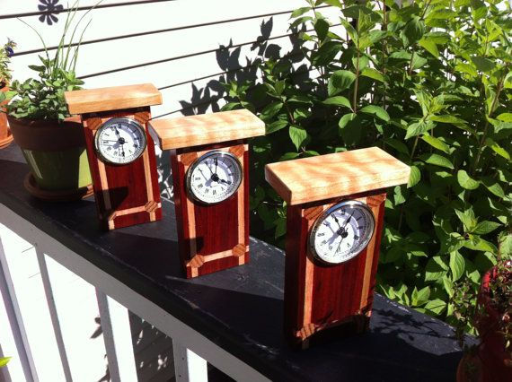 Hey, I found this really awesome Etsy listing at https://www.etsy.com/listing/450588978/mantel-clock-wood-handmade