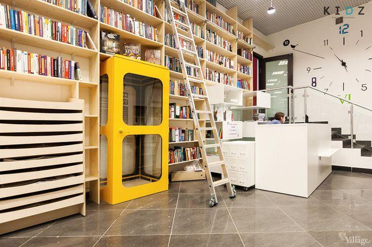 Gogol library interior design #kidz #design #golib