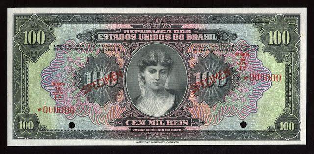 Sterling Numismática: JOAQUIM MURTINHO E O CASO DA CÉDULA DE 2 MIL-RÉIS DE 1900