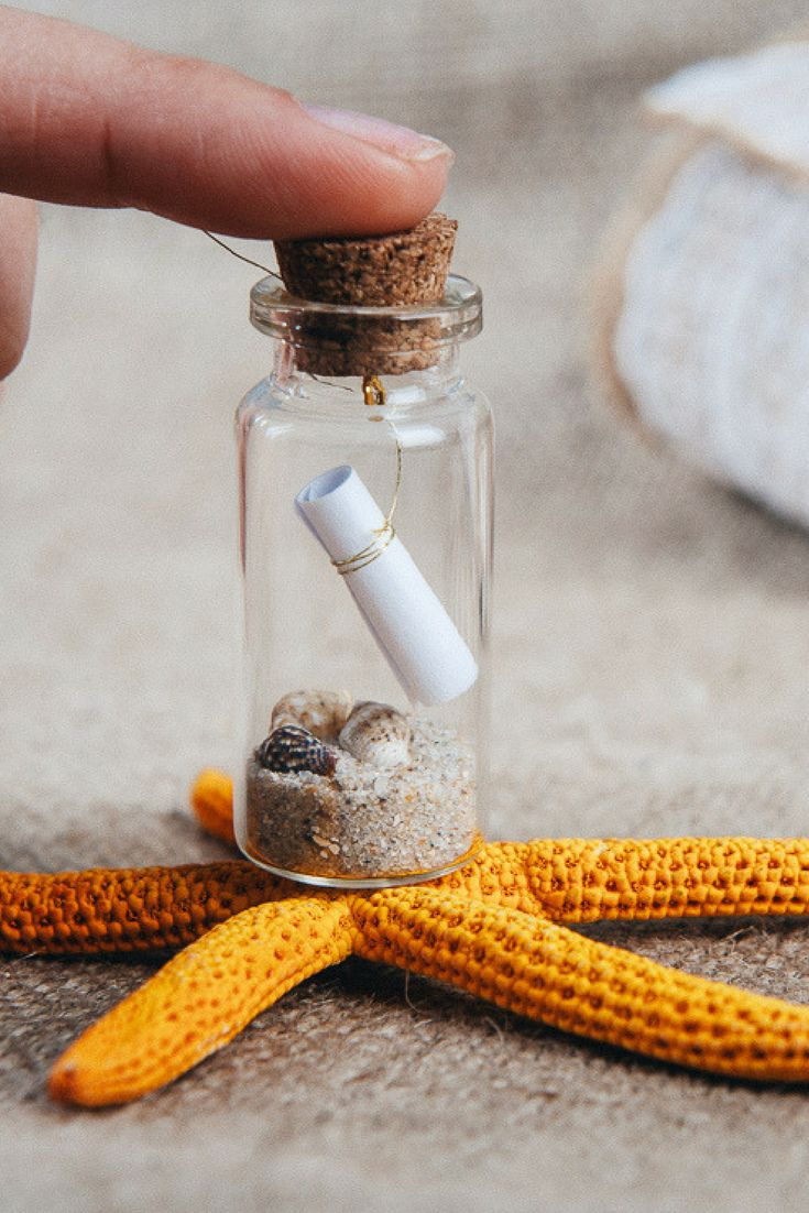 50+ best Wedding favors message in a bottle images on Pinterest