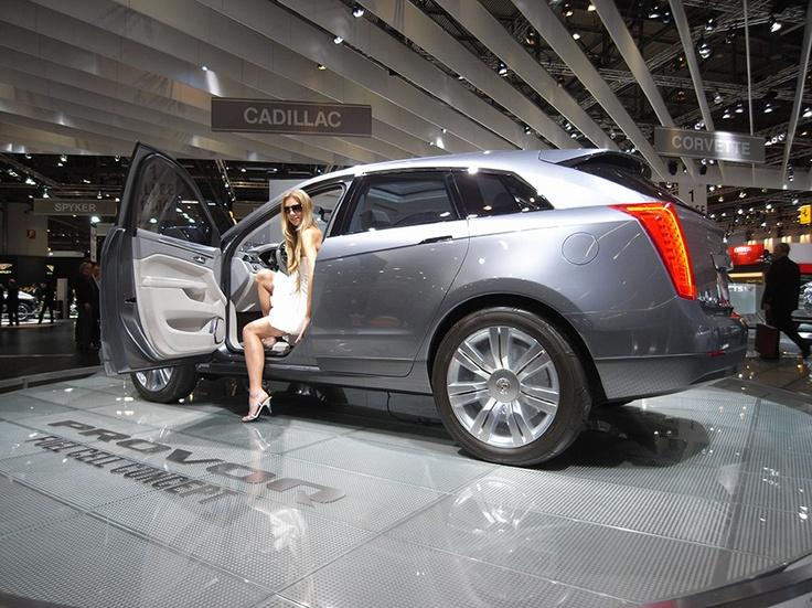 Cadillac at the Geneva Motorshow 2008