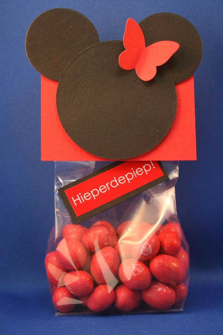 kittys craft: Mickey Mouse treat