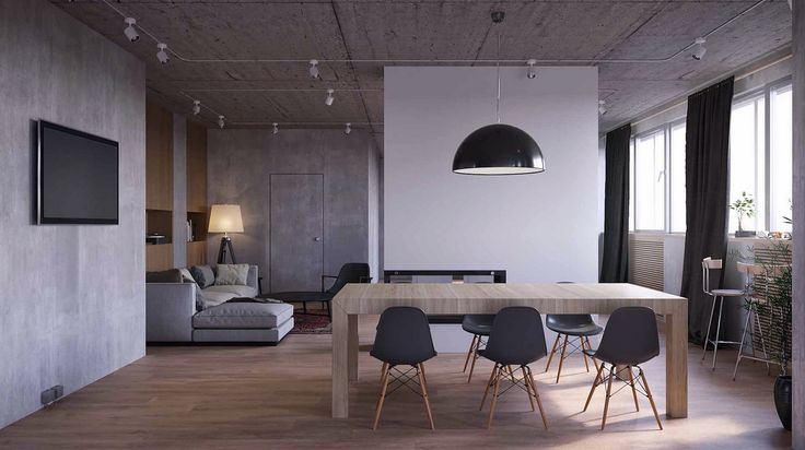 Room With Nothing In It: 17+ Ideas About Industrial Dining Rooms On Pinterest