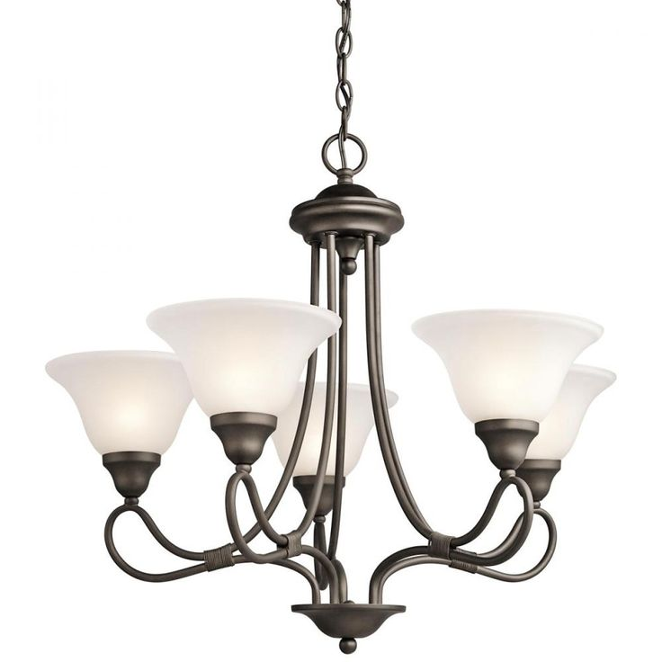 Shop Kichler Lighting 2557 5 Light Stafford Chandelier At Lowes Canada Find Our Selection Of Chandeliers The Lowest Price Guaranteed With Match