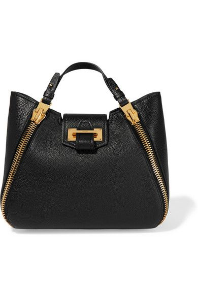 Tom Ford | Sedgewick small textured-leather tote | NET-A-PORTER.COM