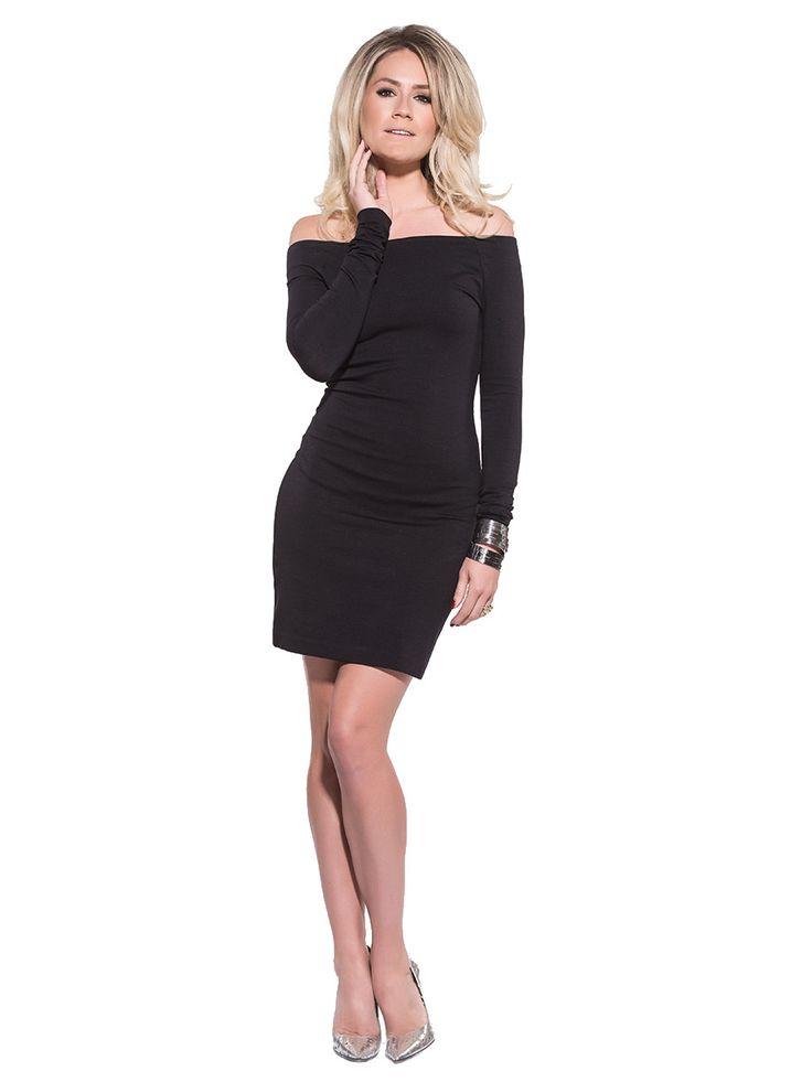 Little Black Dress on Pinterest | Leather Dresses, Off Shoulder ...