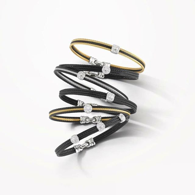 Nothing stacks up to ALOR stackable bangles #stackablebangles