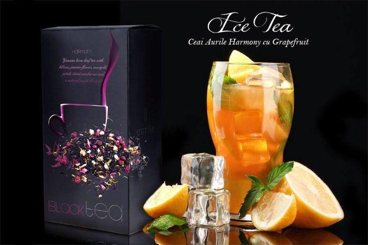 Afacerea FM Group: Harmony Ice Tea - cu grapefruit